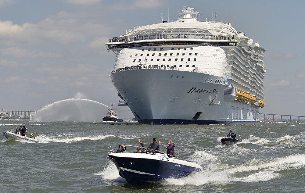 ¡Bienvenido a bordo!: conozca el lujoso crucero más grande del mundo