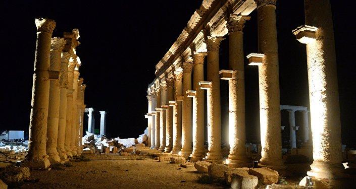 Parte histórica de Palmira