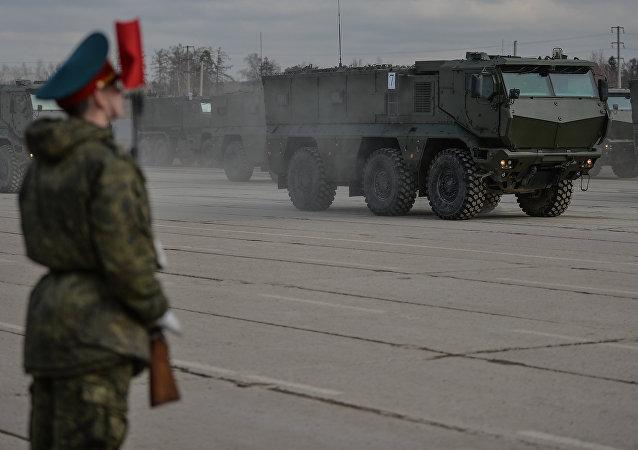Vehículos blindados Taifún