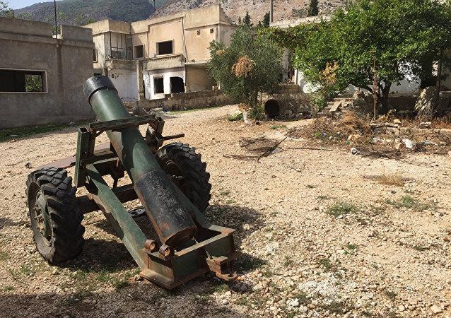 Aldea siria, ocupada por los terroristas del Frente al Nusra (archivo)
