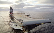 Portaviones de la Armada de Rusia Almirante Kuznetsov