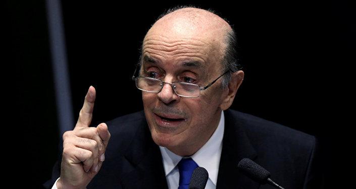 José Serra, canciller de Brasil