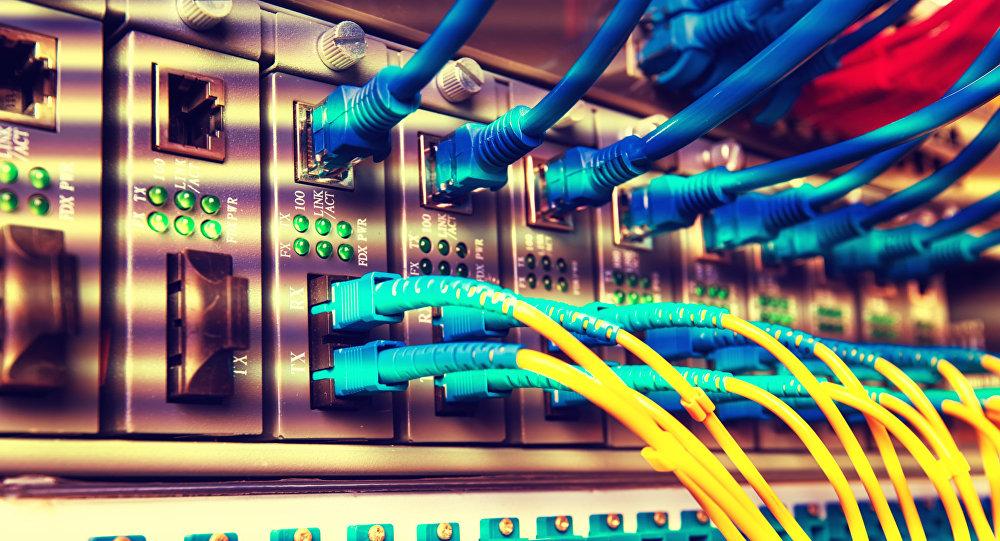 Cable de fibra óptica (imagen referencial)