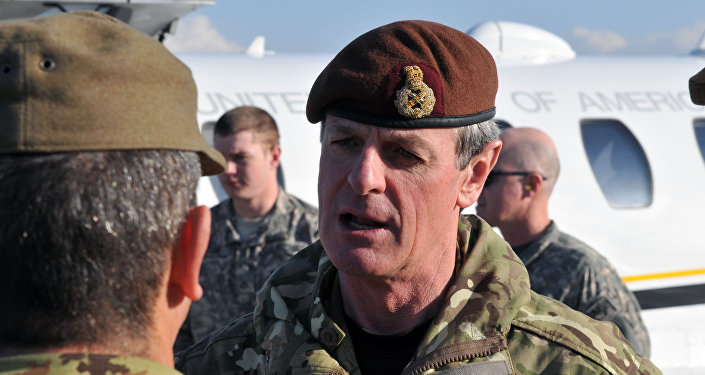 El general británico Sir Alexander Richard Shirreff