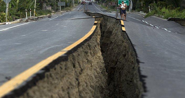 Consecuencias del terremoto (archivo)