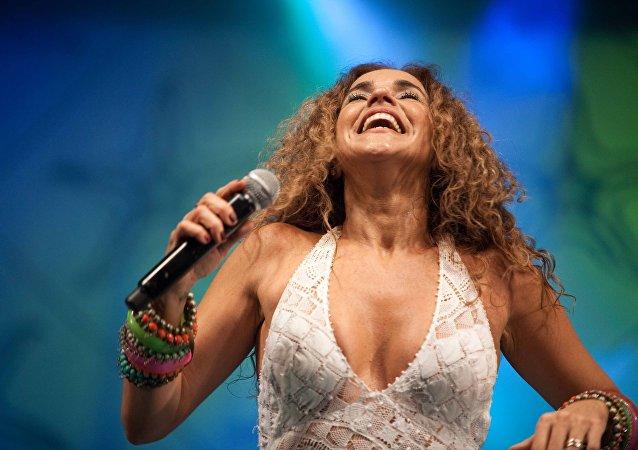 Daniela Mercury, la cantante brasileña