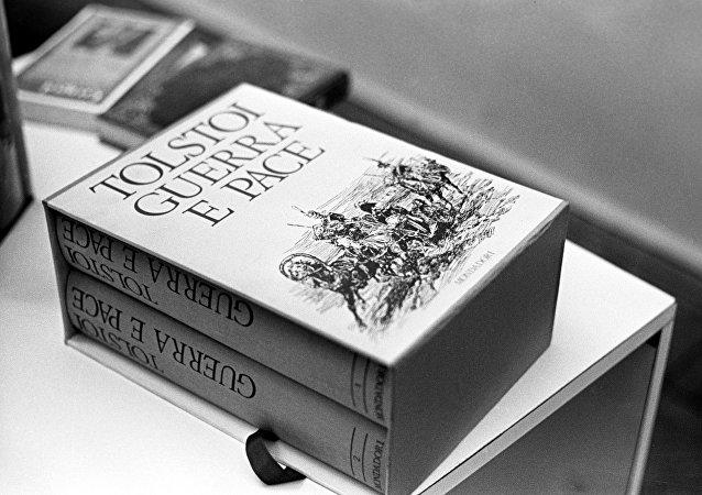 La novela de León Tolstói Guerra y Paz