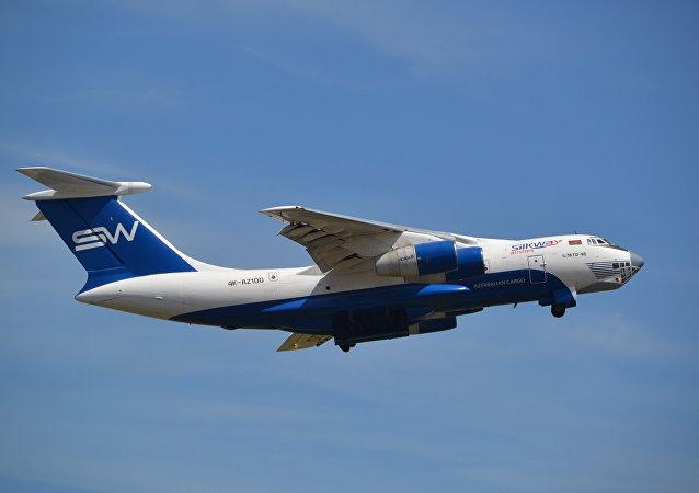 Un avión de la compañía aérea azerbaiyana Silk Way