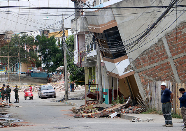 Consecuencias del terremoto (imagen referencial)