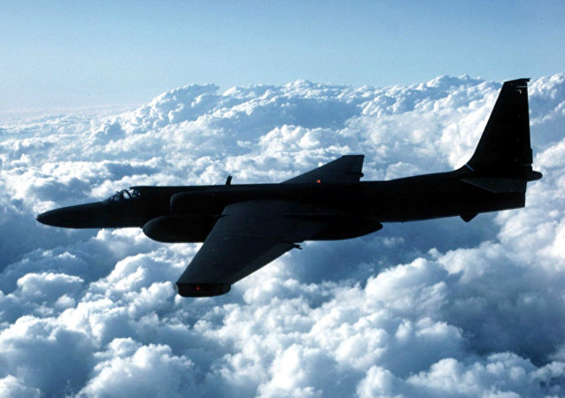 This undated US Air Force photo shows a U-2 spy plane which is expected to be used by the US in the war against terrorism