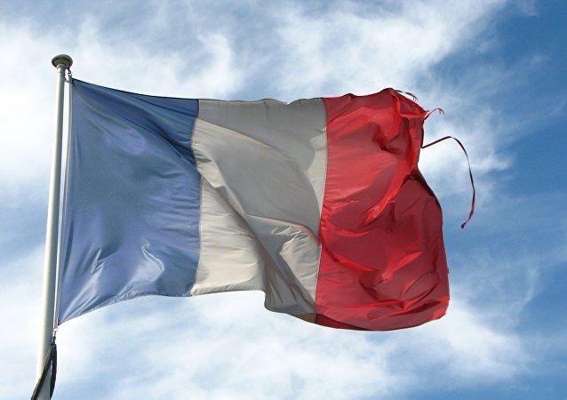 La bandera de Francia