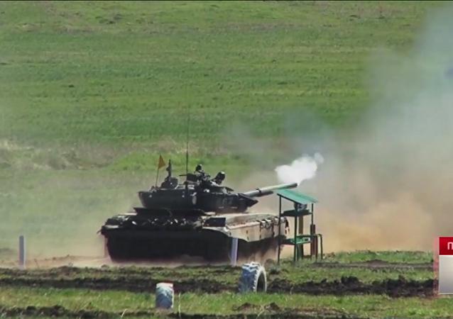 GoPro: Biatlón de tanques