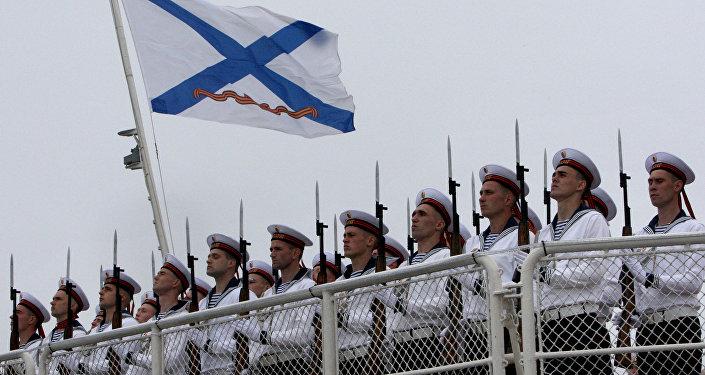 Marineros rusos