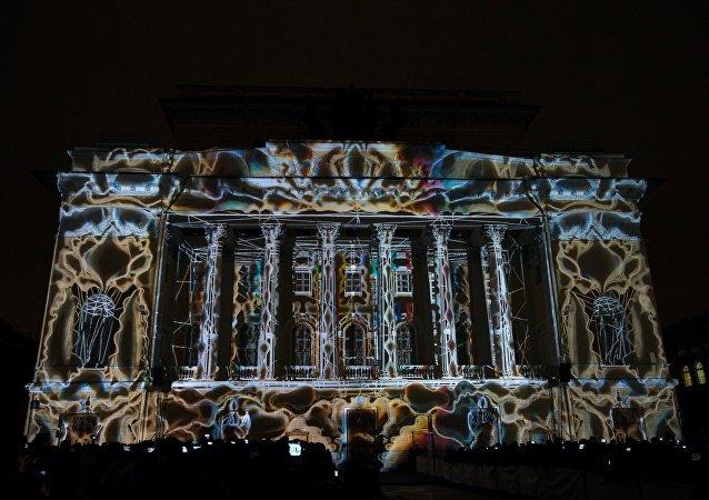 'Festival de las Luces' en San Petersburgo