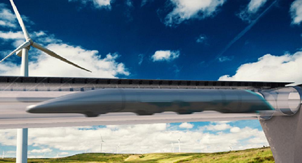 El sistema de transportación Hyperloop