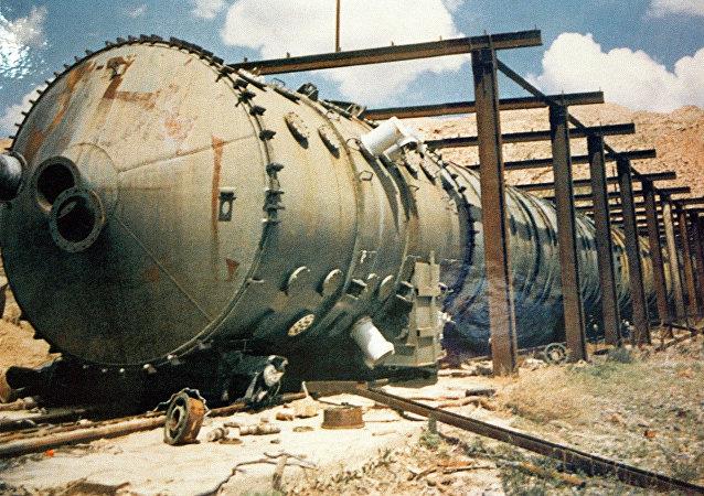 Polígono nuclear de Semipalátinsk en Rusia
