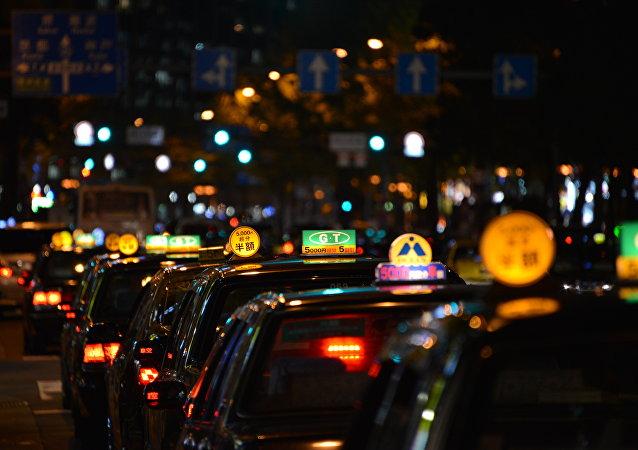 Los taxis en Japón