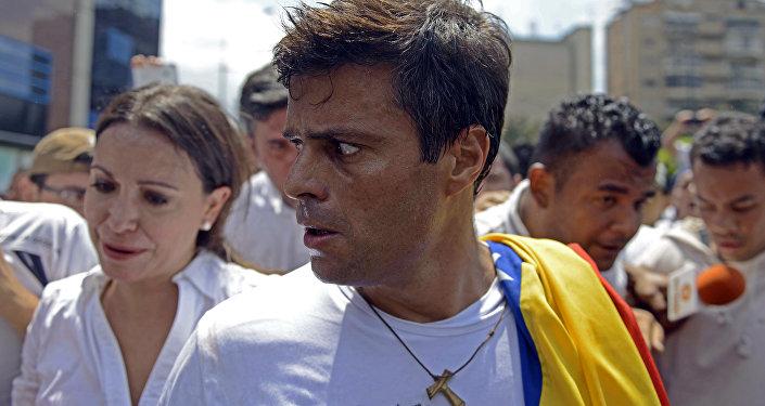 Leopoldo López, opositor venezolano
