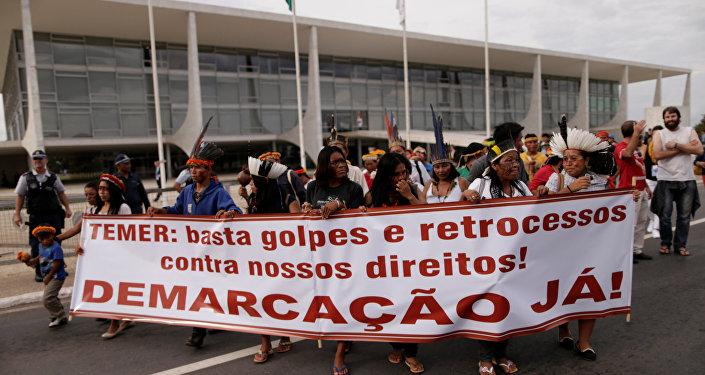 Conflictos por la demarcación de tierras indígenas: un problema recurrente en Brasil