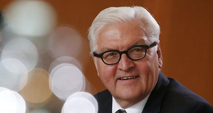 Frank-Walter Steinmeier, ministro de Asuntos Exteriores de Alemania