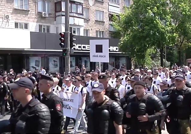 Festival de la familia hace cambiar de ruta una marcha LGBT en Moldavia