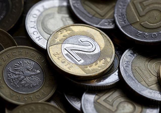 El esloti, la divisa nacional de Polonia