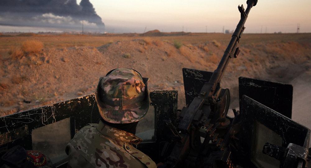 Ofensiva del Ejército iraquí contra Daesh en la ciudad de Faluya