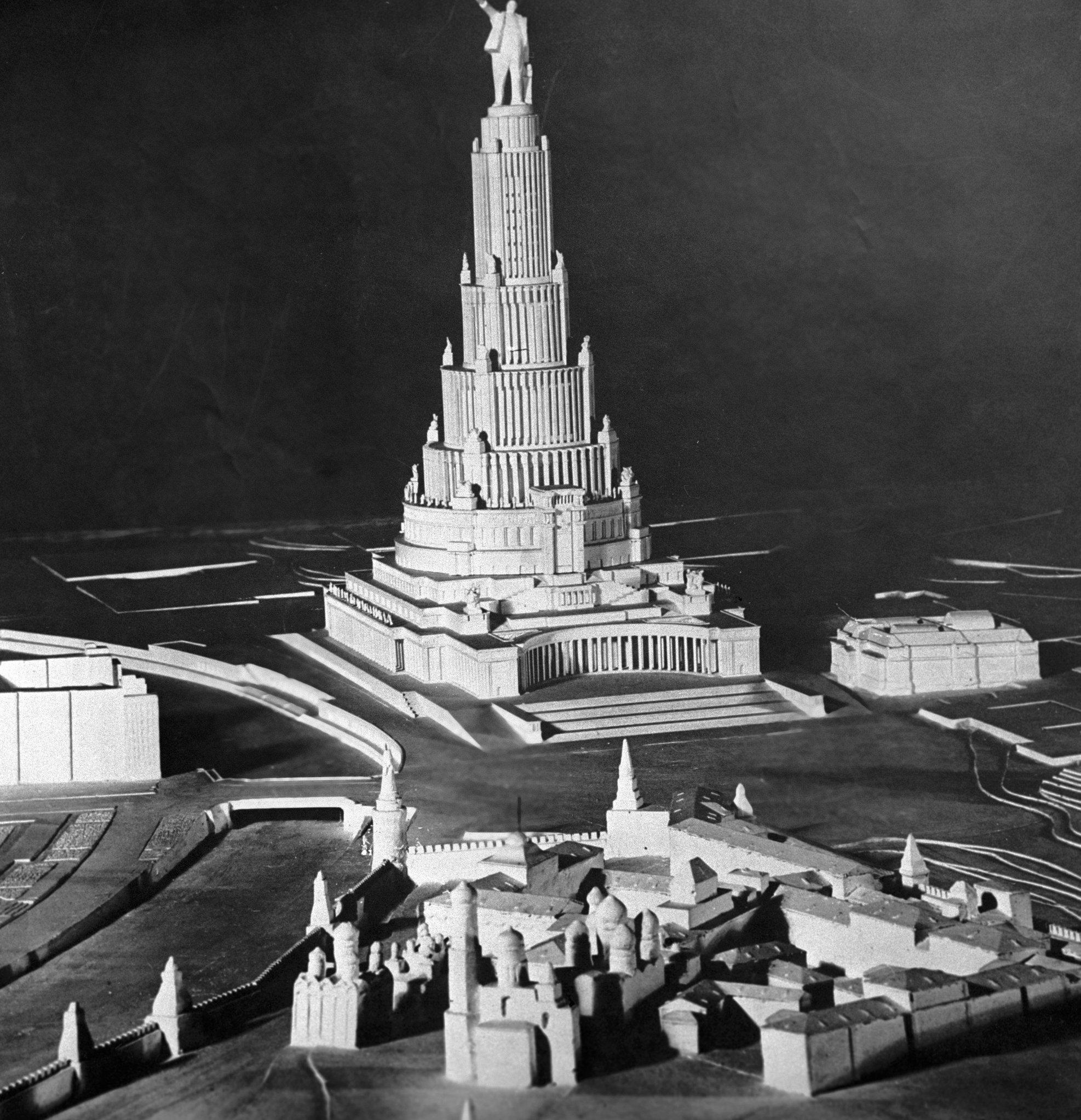 Maqueta del Palacio de los Soviets