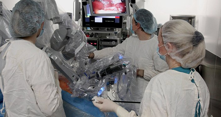 El robot cirujano Da Vinci