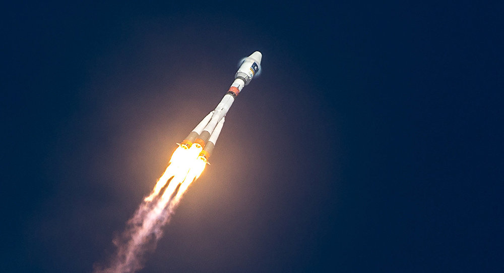 Lanzamiento de un cohete (Archivo)