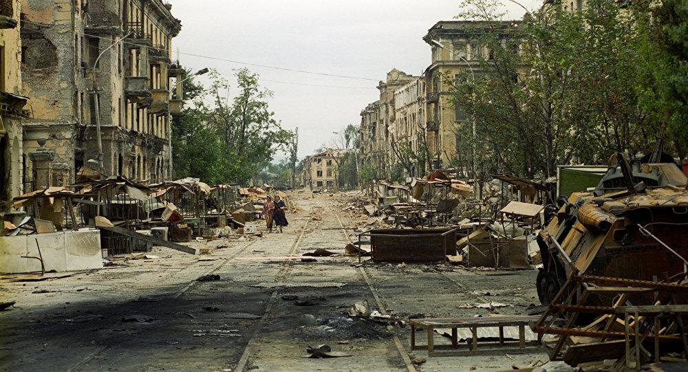Conflicto en Chechenia, 1994-1996