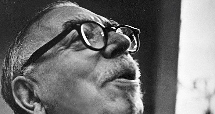 El científico americano Norbert Wiener