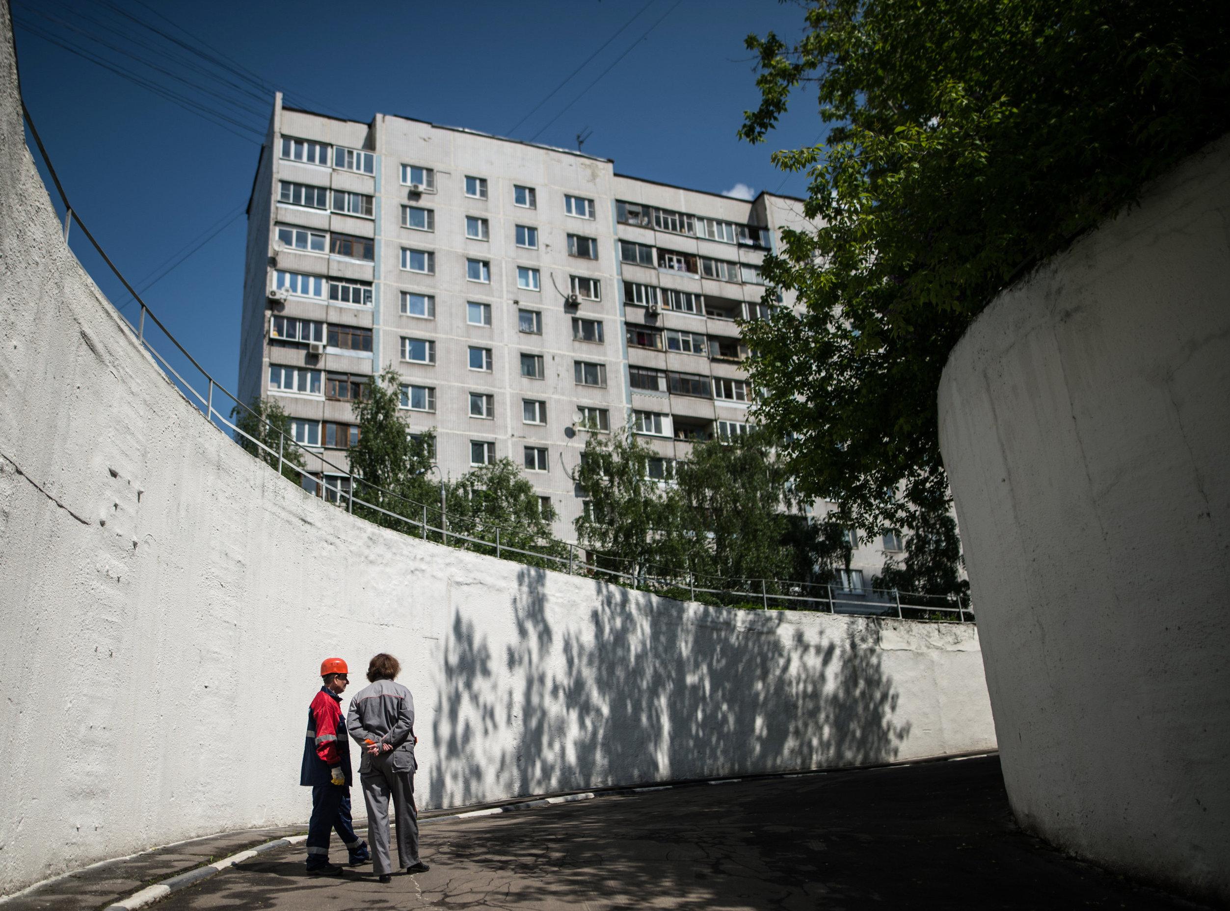 Búnker en Moscú