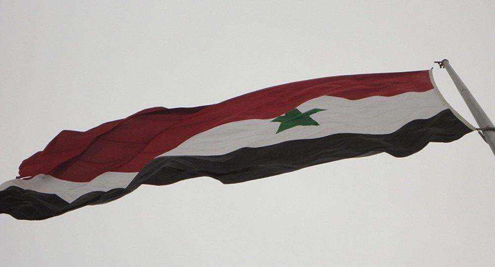 Bandera de Siria