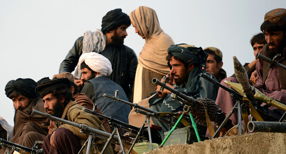 Combatientes de Talibán en Afganistán (archivo)