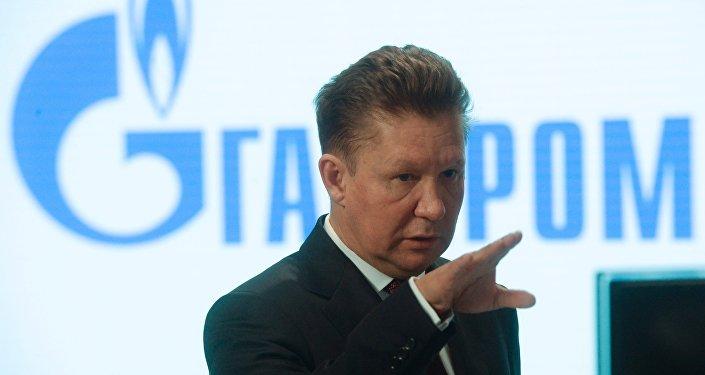 Alexéi Miller, presidente de la compañía rusa Gazprom