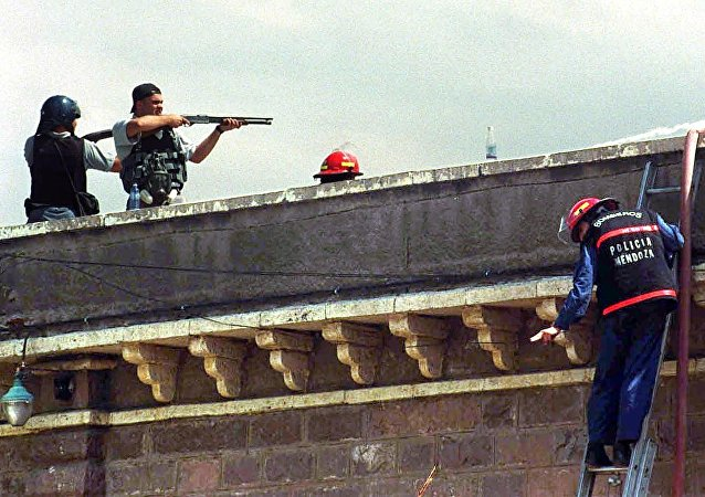 Desorden en una cárcel argentina (archivo)