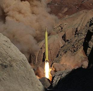 Irán lanza un misil balístico, el 9 de marzo de 2016