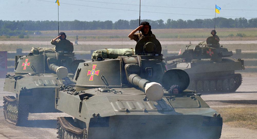 Tanques ucranianos