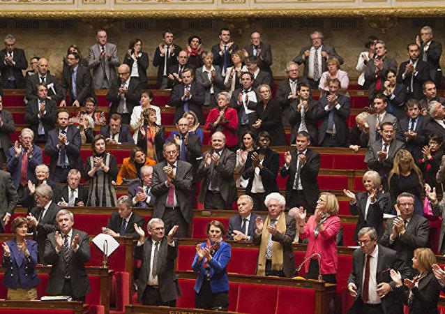 Senadores franceses