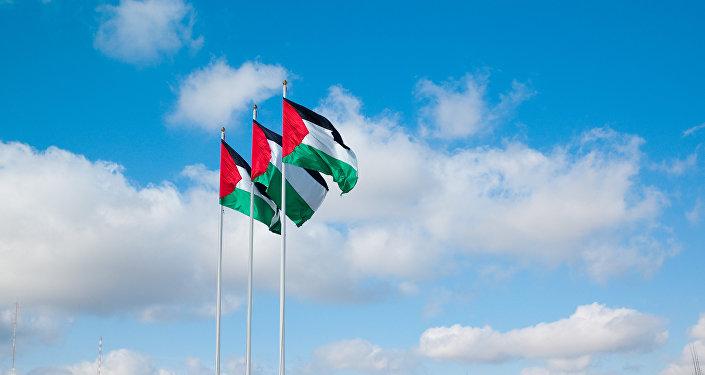 Bandera de Palestina (archivo)