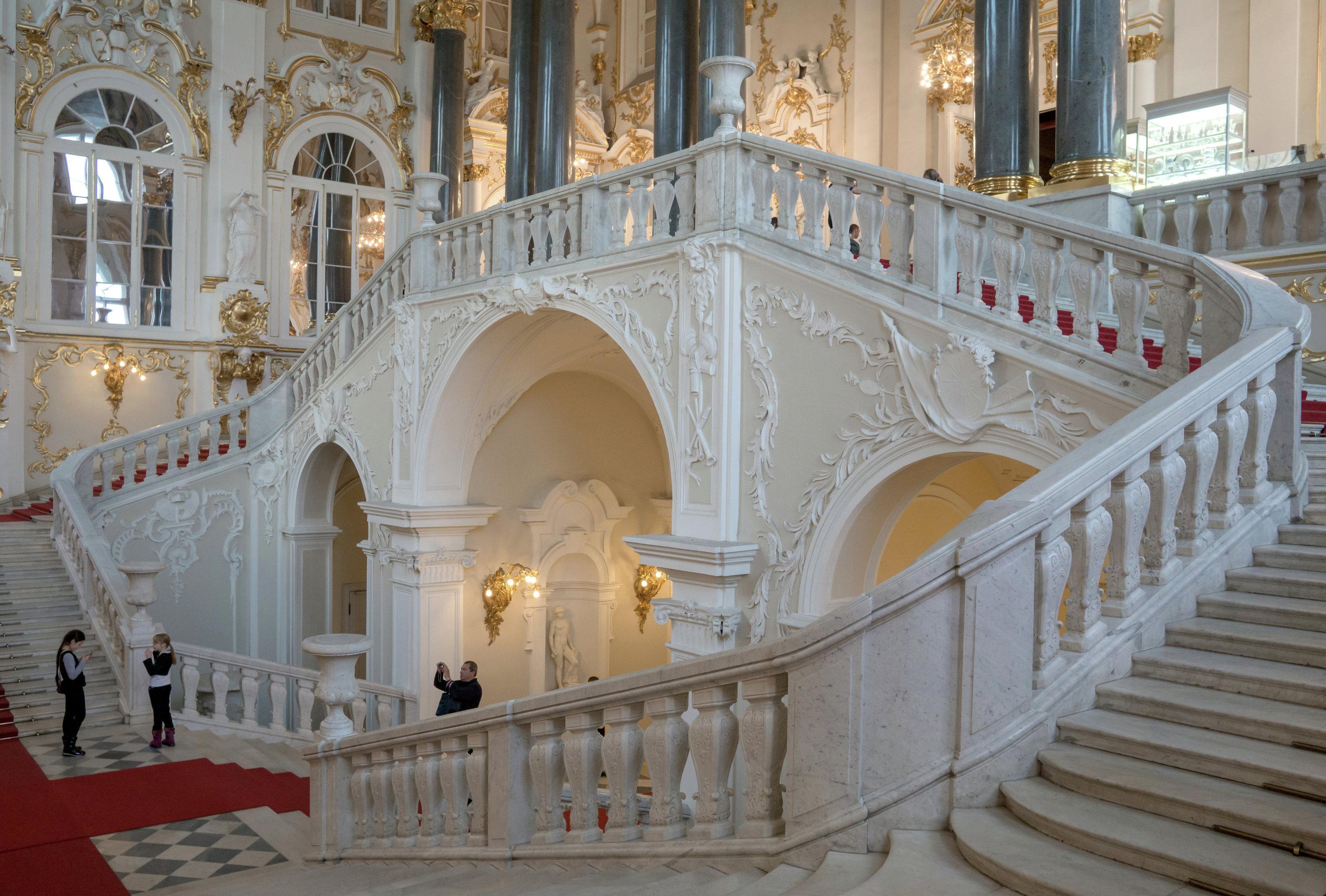 Dentro del Hermitage