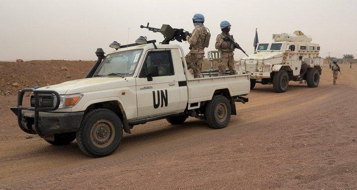 Los pacificadores de la ONU en Mali