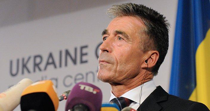 Anders Fogh Rasmussen, ex secretario general de la OTAN