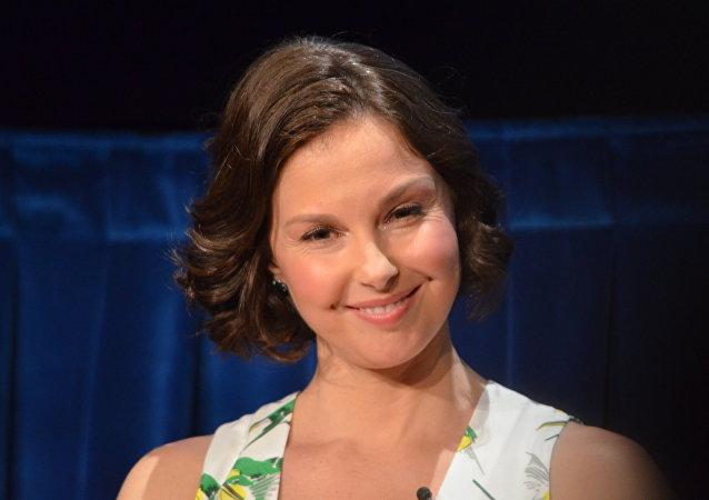 Ashley Judd, actriz y embajadora de Buena Voluntad del Fondo de Población de la ONU