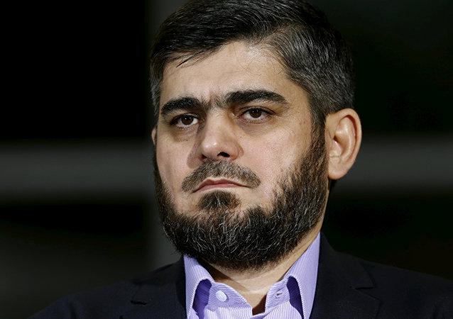 Mohamed Alush, ex negociador jefe del opositor sirio ACN