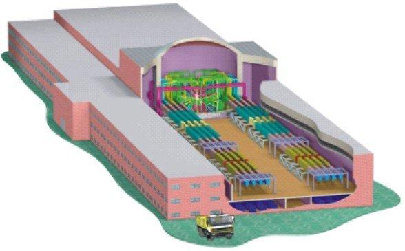La instalación láser UFL-2M