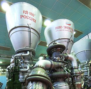 Propulsores rusos RD-180