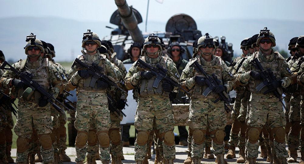 Ejercicios militares conjuntos de Georgia y la OTAN