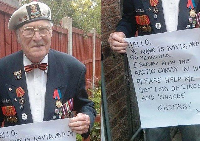 David Kennedy, veterano de los convoyes árticos de la Segunda Guerra Mundial